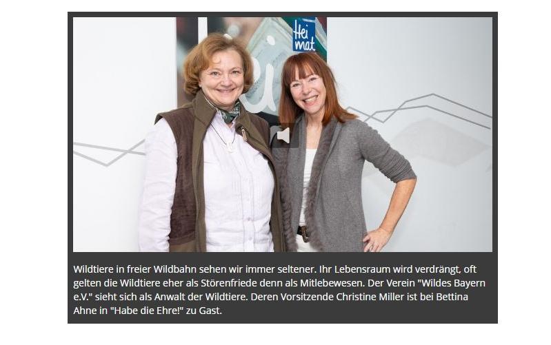 Habe Die Ehre Dr Christine Miller Zu Gast In Der Br Heimat Ab Sofort Im Podcast Wildes Bayern E V