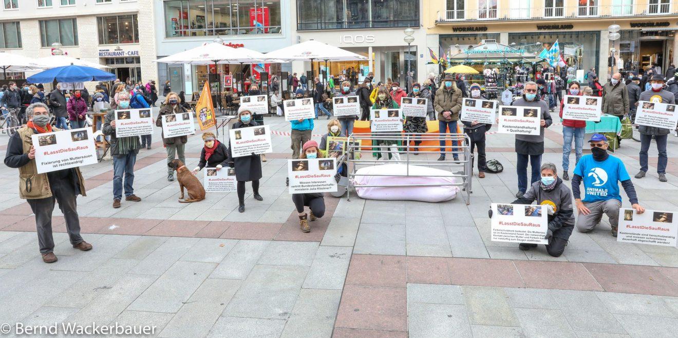 Rückblick - Wir waren beim 2. Aktionstag #LassdieSauraus mit dabei