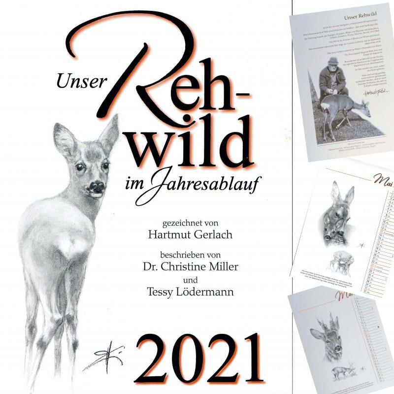 (c)Wildes Bayern - Rehkalender von Hartmut Gerlach