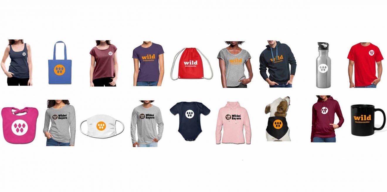 Neue Shopprodukte - Wildes Bayern Spreadshirt Shop