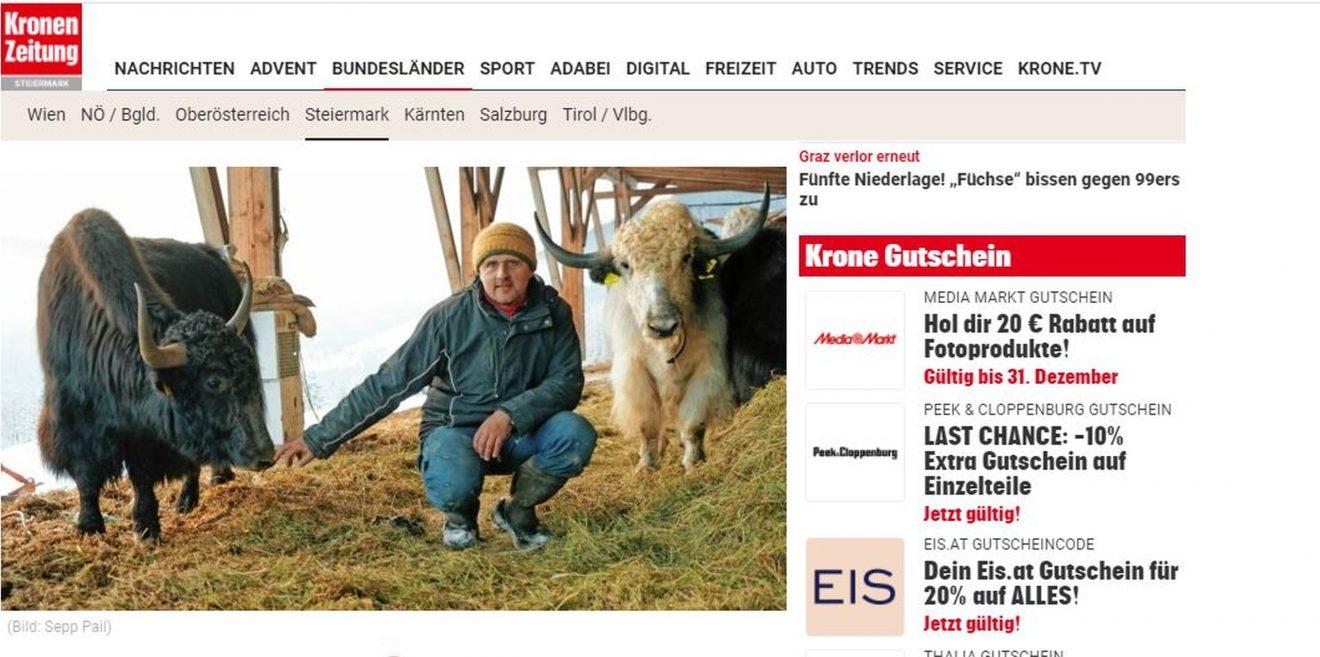 Wie es den Bauern geht, entscheidet über das Schicksal von Wildtieren!