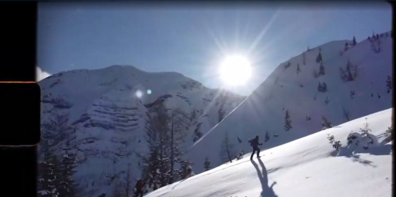 Skilegende Fritz Strobl zeigt wie Wild und Wintersport zusammen passen