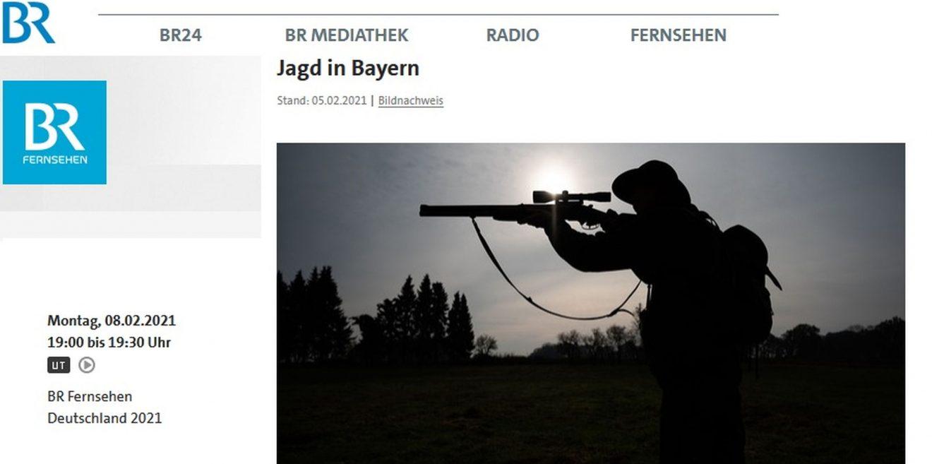 """Video - """"Jagd in Bayern"""" - Interessanter Beitrag im Bayerischen Fernsehen"""