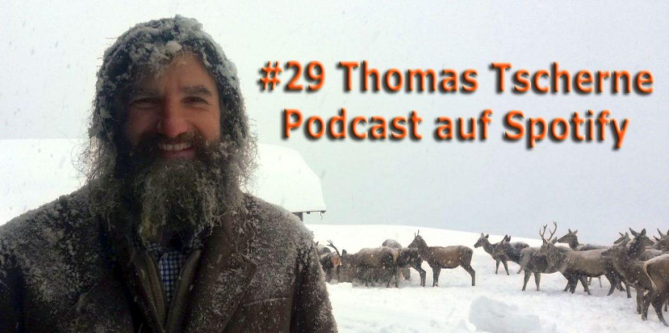 Podcast #29 - Thomas Tscherne - Hirschflüsterer aus dem Angertal