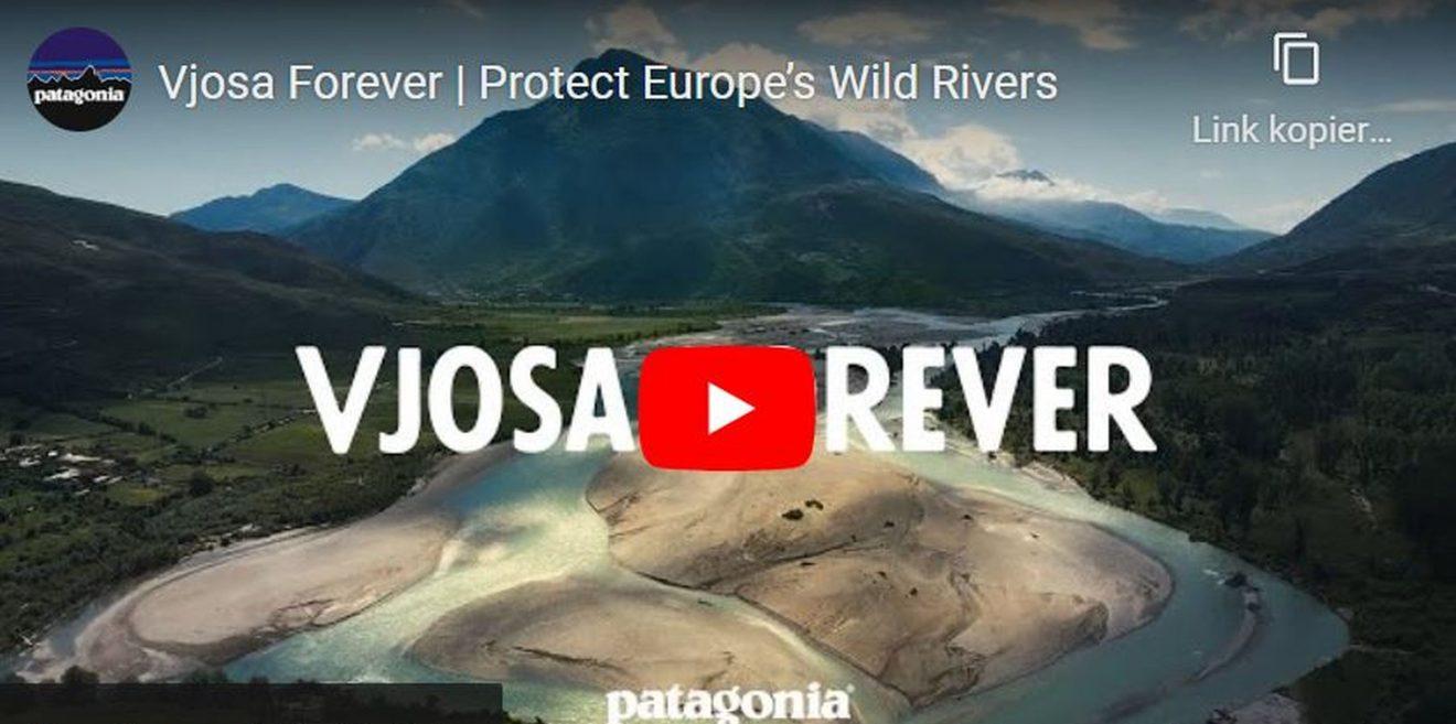 (c)Screenshot YouTube - Vjosa Rever #VjosaNationalParkNow