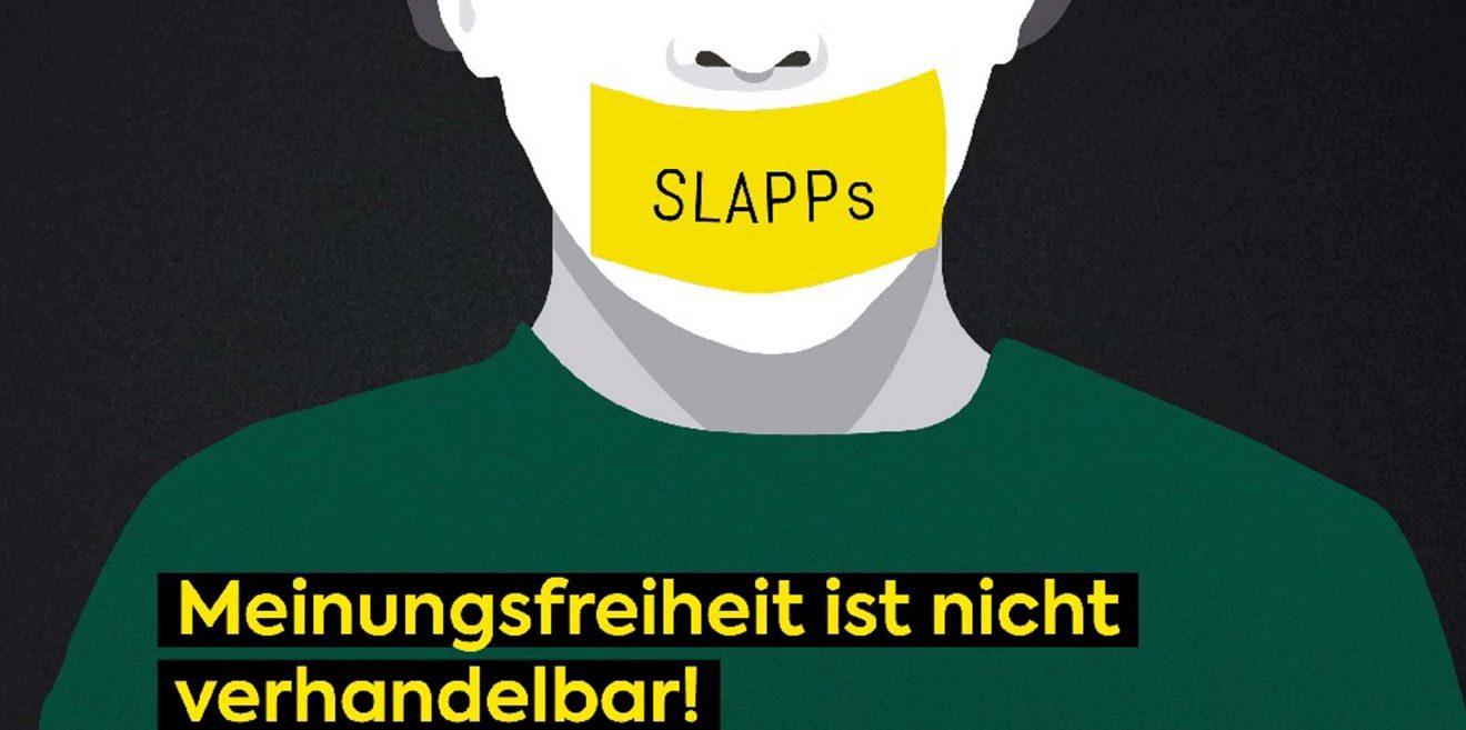 SLAPP - Über den Angriff auf Meinungsfreiheit & Demokratie