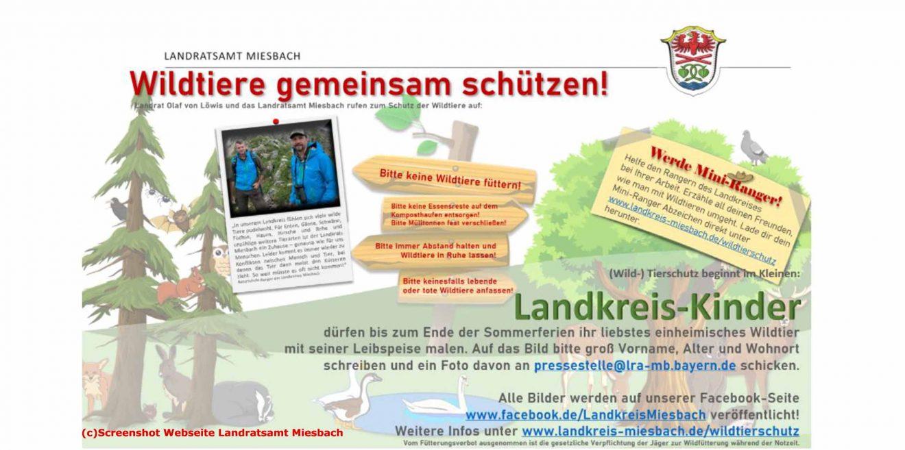 (c)Screenshot Mini Ranger - Landratsamt Miesbach