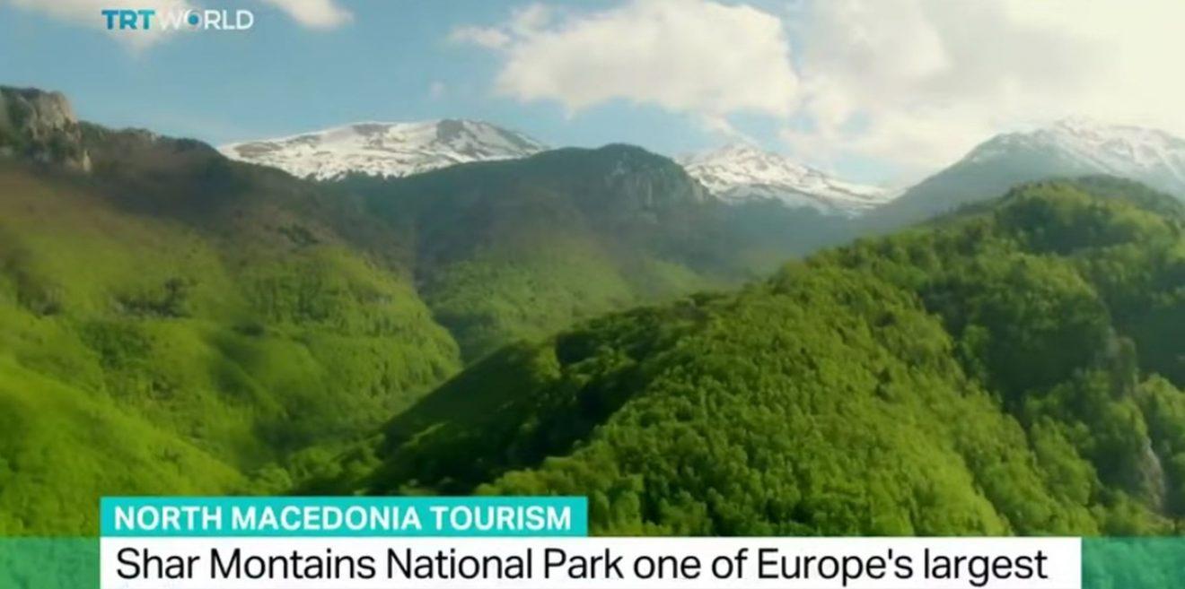 (c)Screenshot YouTube - North Macedonia Tourism - Shar Mountains National Park