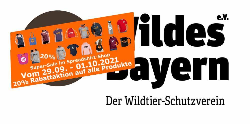 Herbst-Sale-Aktion: 15% Rabatt im Wildes Bayern Spreadshirt-Shop