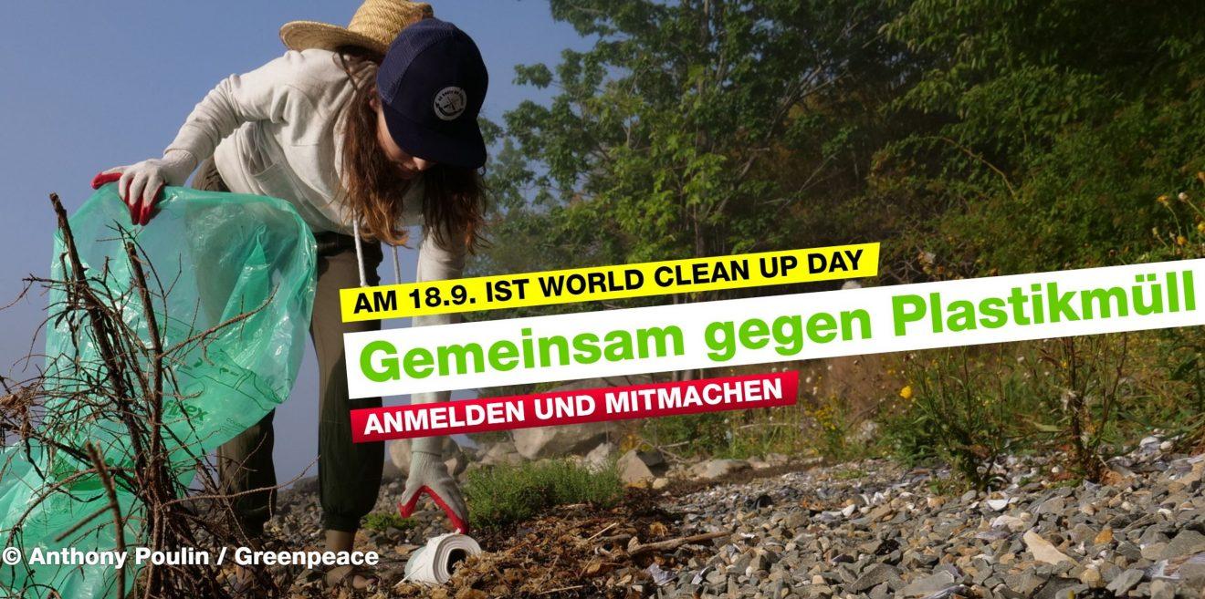 18. September - Mach mit beim World Clean Up Day